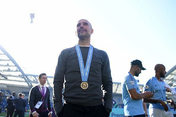 Pep Guardiola is hungry for more success after such a challenging campaign