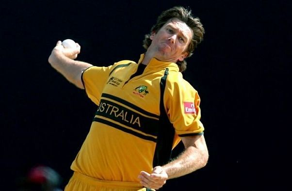 Glenn McGrath played an important role in Australia's success in World Cups