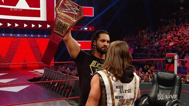 Seth Rollins is ready for a fight at Money in the Bank