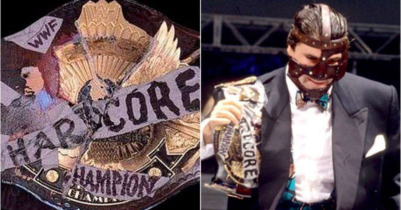 The Hardcore Title is one of its kind!