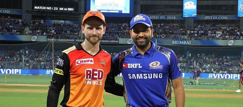 मुंबई और हैदराबाद के कप्तान
