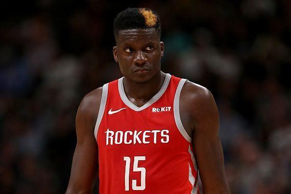 Clint Capela struggled during the Rockets