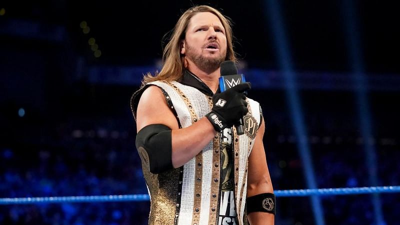 AJ Styles has cemented his status as one of WWE