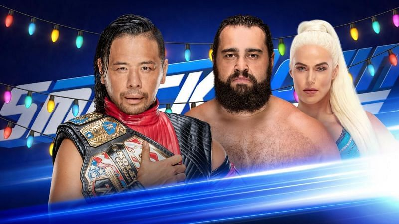Team of rusev and nakamura