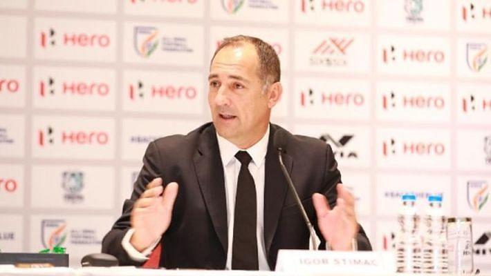 Indian Football Team Coach Igor Stimac