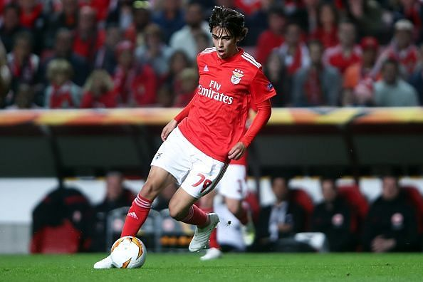 Joao Felix is the youngest player to score a Europa League hat-trick