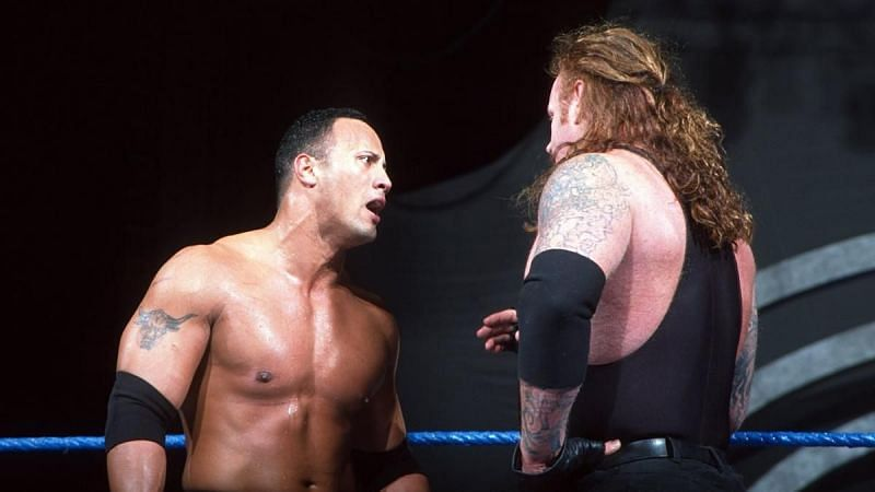 The Rock and The Undertaker were WWE Tag-Team Champions for less than a week