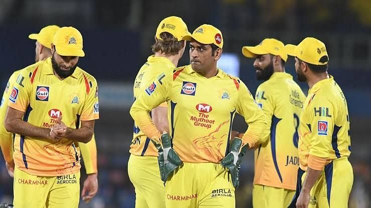 The CSK team during the final (picture courtesy: BCCI/iplt20.com)