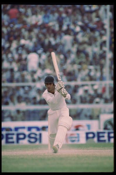 The dazzling strokeplay of Majid Khan (above) and Zaheer Abbas against the Caribbean fearsome foursome of West Indies delighted the crowd in the World Cup 1979 semi-final.