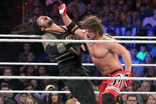 AJ Styles vs Roman Reigns