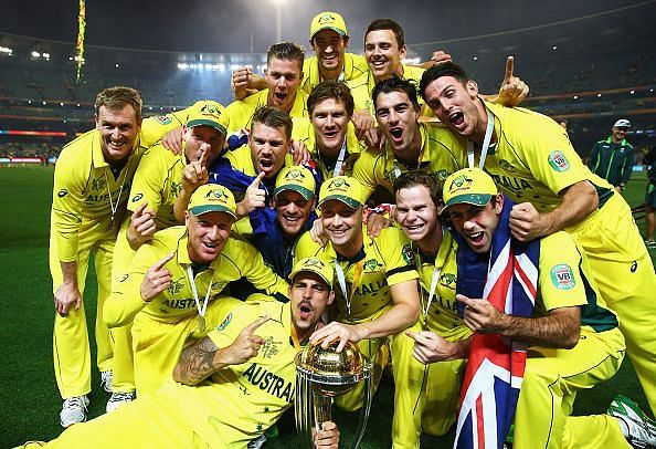 Australia are the defending champions of  ICC World Cup
