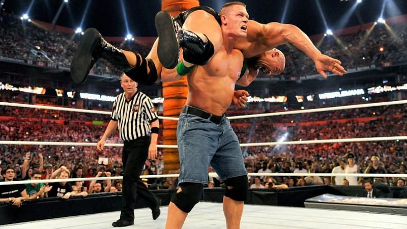 Both Cena and The Rock were once without a home before becoming some of wrestling