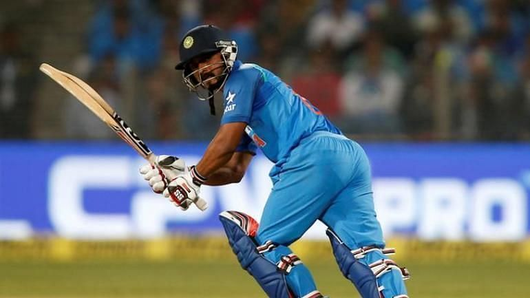 Kedar Jadhav has been an important part of the squad since 2017