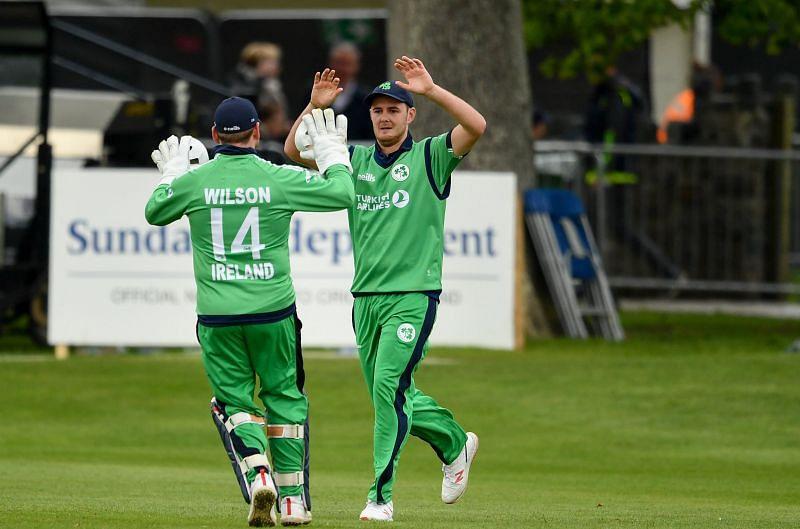 Mark Adair picks 3 wickets for Ireland