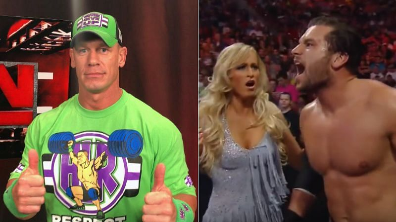 John Cena and Summer Rae have been involved in botches that changed results