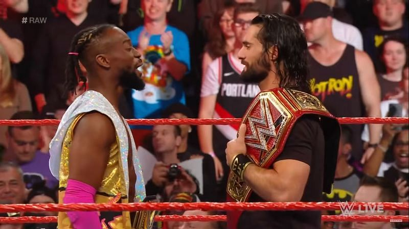 Kofi and Rollins