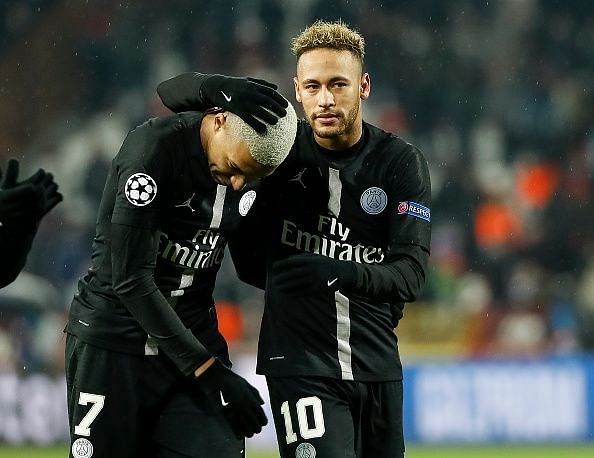 Neymar and Mbappe find themselves regularly linked with a move to the Spanish capital club