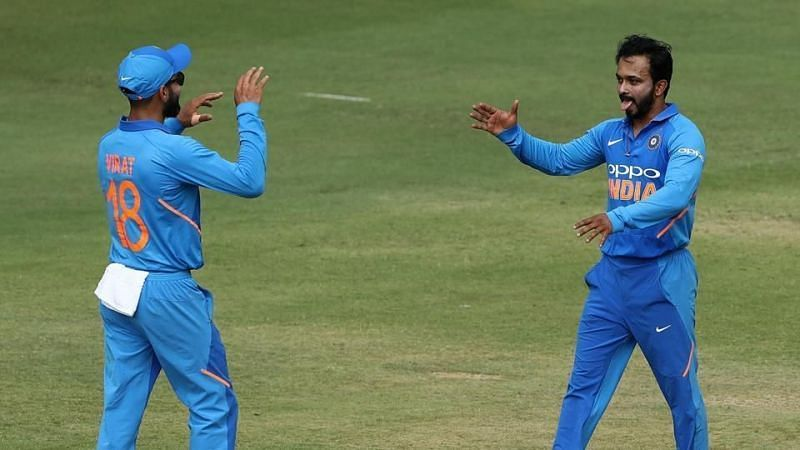 A question mark still hangs over Kedar Jadhav