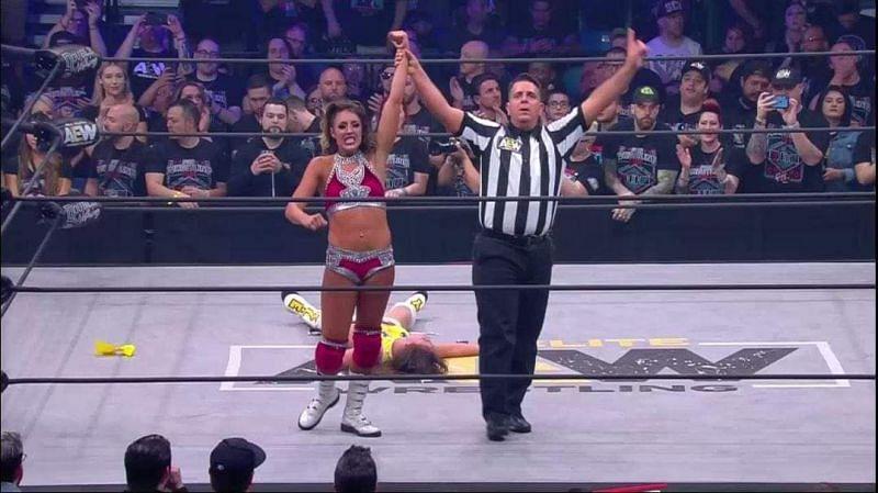 Britt Baker got the win she needed!
