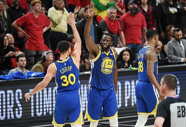 Golden State Warriors are looking for a three-peat