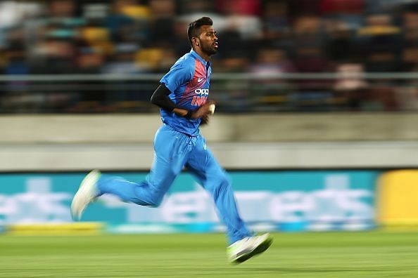 New Zealand v India - International T20 Game 1