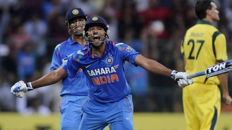 Rohit Sharma has three double centuries in ODIs