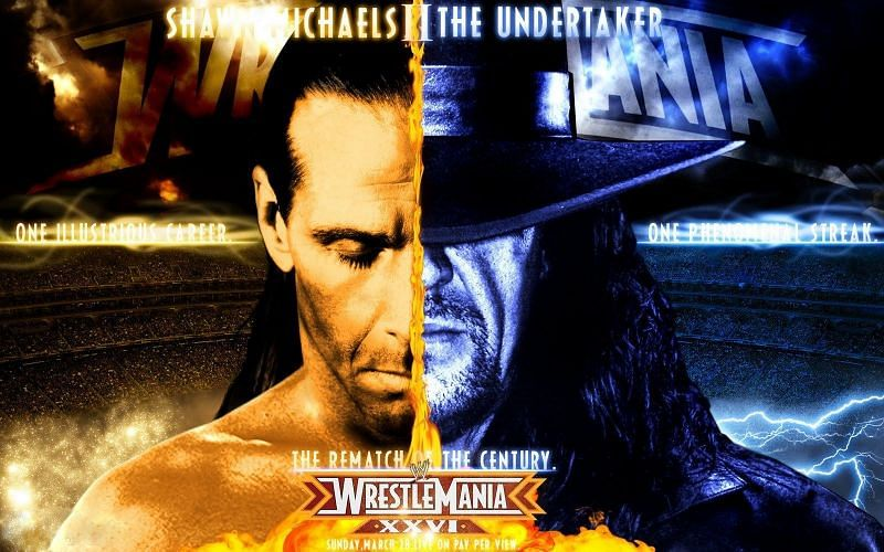 No two Superstars defined WrestleMania in the way Michaels and The Undertaker did