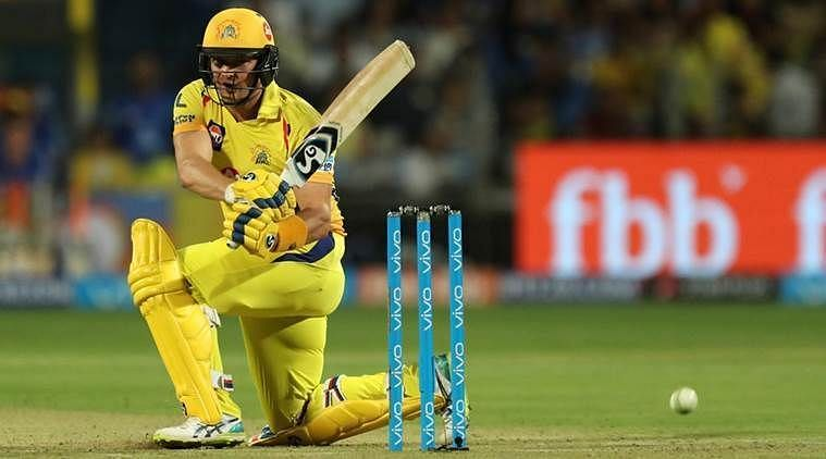 Shane Watson has scored runs at an average of less than 18