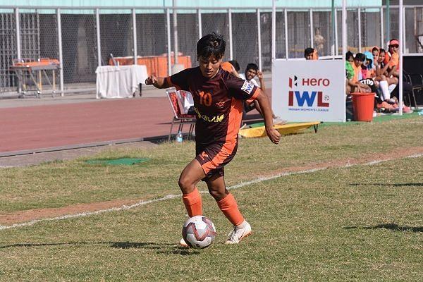 Anju Tamang, Gokulam Kerala striker