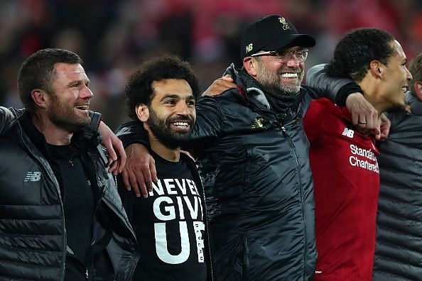 Liverpool eliminated Barcelona from the Champions League