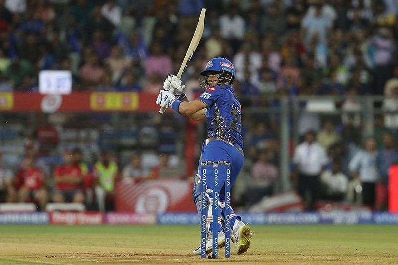 Siddhesh Lad got off the mark with a six and a four off the first two balls of his IPL career
