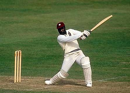 Vivian Richards in full flow.