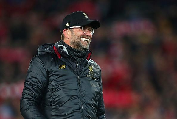 The master technician was all smiles after Liverpool