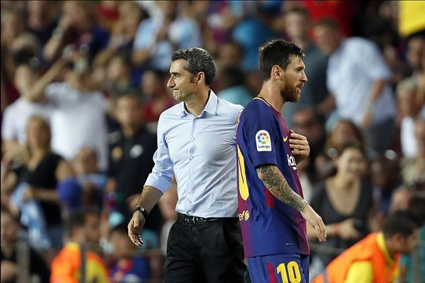 Valverde has failed to get the best out of Messi and Barcelona