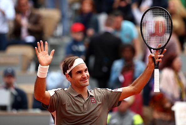 2019 French Open - Roger Federer