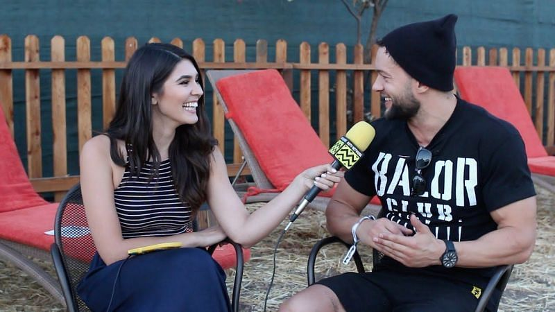 Cathy Kelley and Finn Balor dated for a little over a year
