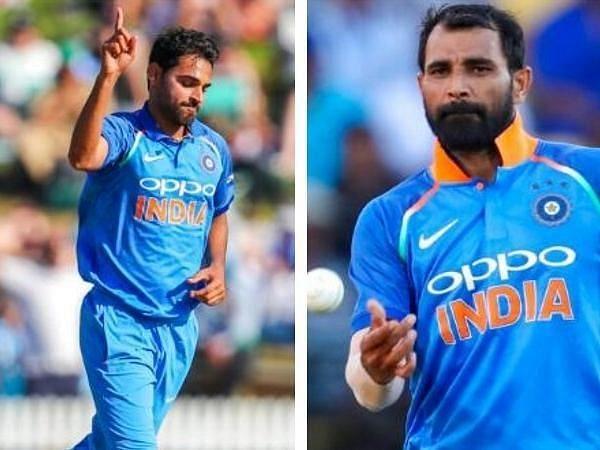Bhuvneshwar and Shami both have similar numbers since October 2018