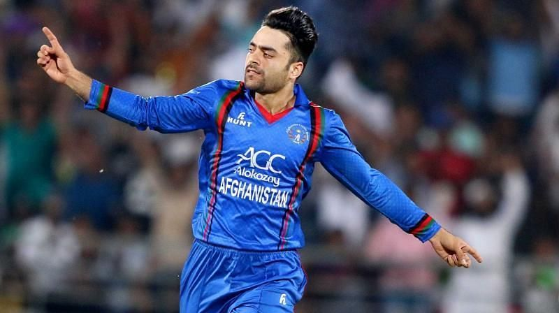 Rashid Khan is playing his debut World Cup