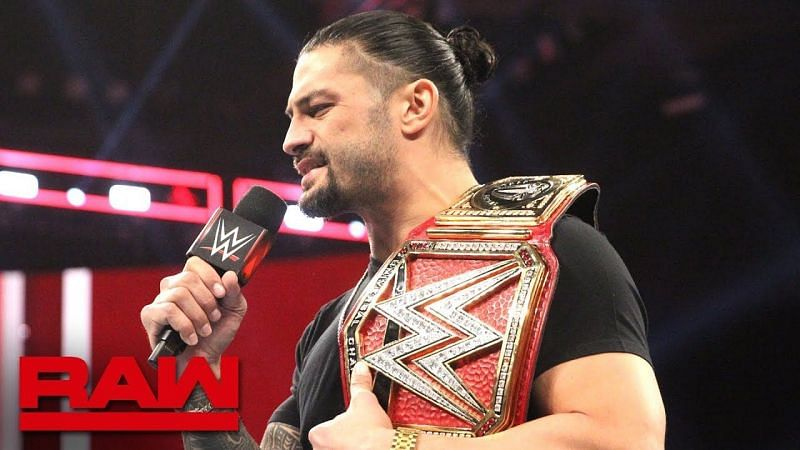 Reigns forfeited the Universal Championship on RAW in 2018 following the return of his leukemia