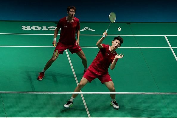 Li Junhui and Liu Yuchen