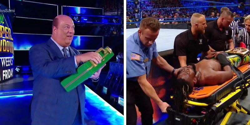 The WWE Champion was completely destroyed by a returning Superstar