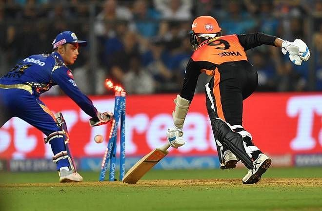 3 dismissals by Ishan Kishan and parthiv patel is the highest number of dismissals by a wicket-keeper