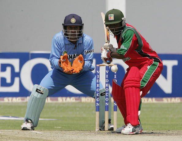 Taibu in action against India