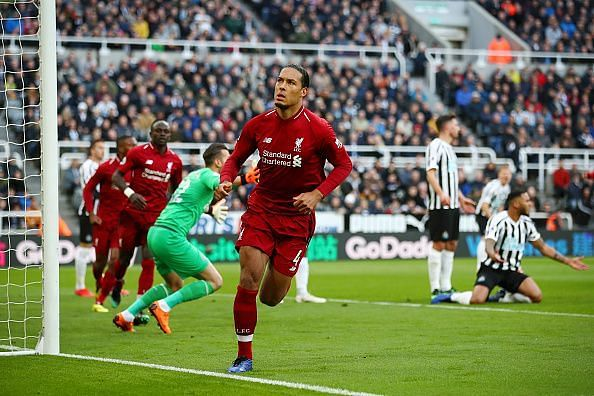 Virgil van Dijk established himself as the best defender in the Premier League this season.