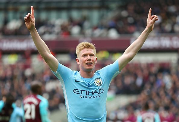 Kevin de Bruyne is known for his vision and pinpoint passes