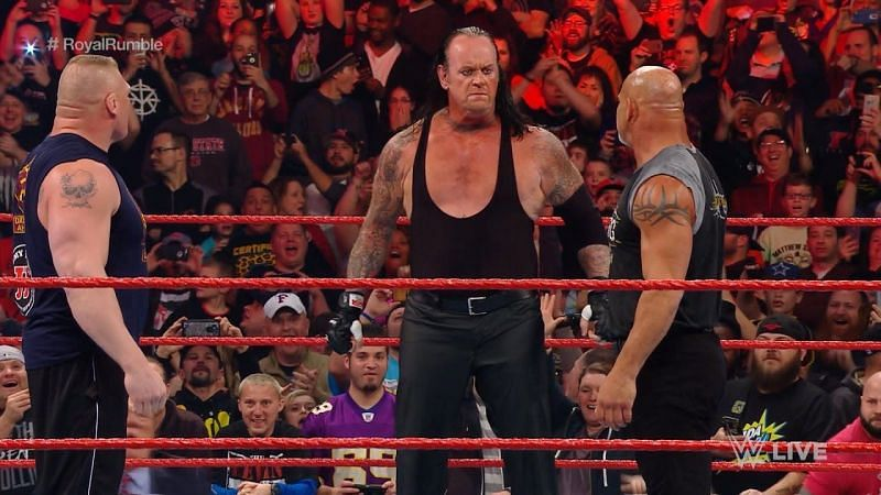 Is WWE planning a big match for Brock Lesnar?