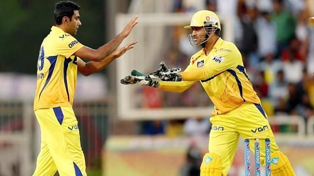 10 wickets taken by R Ashwin of CSK is the highest number of wickets