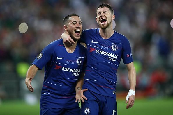 Jorginho put in a complete performance