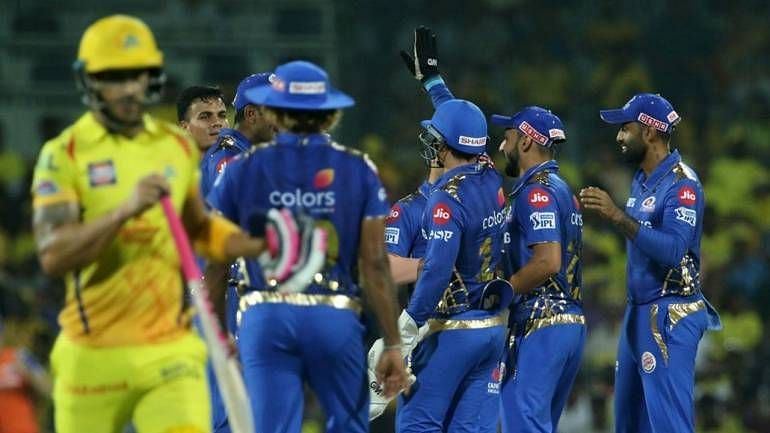 csk lost all 3 matches against mi this season