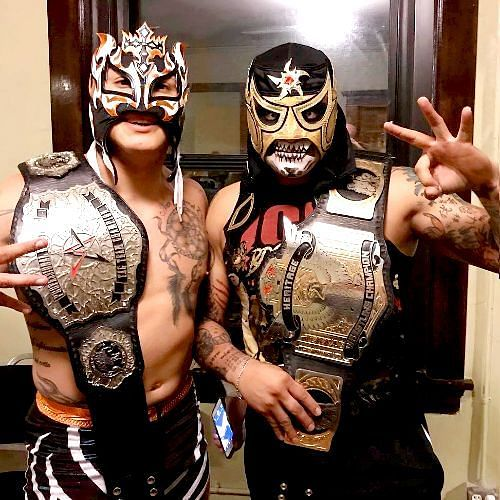 The Lucha Brothers